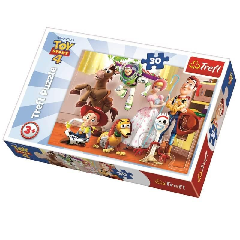 Toy story 4 puzzle de 30 pieces trefl