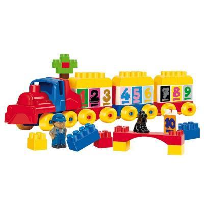 Train abrick ecoiffier jouet fabrique en france 18 mois et plus