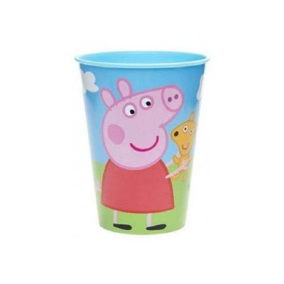 Verre en plastique rigide Peppa Pig