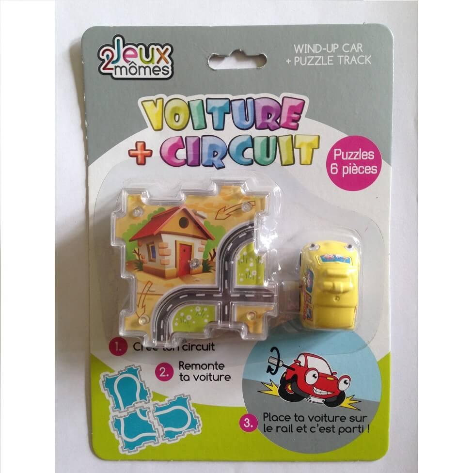 Voiture et circuit puzzle enfant jeux 2 momes 1